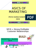 Fundamentals of Marketing Management