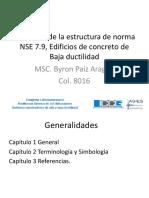Byron Paiz - Recorrido Estructura de La Norma NSE 7.9
