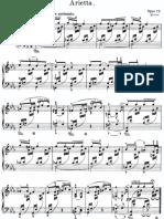 Grieg Arietta Op 12
