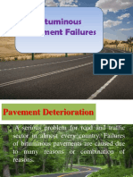 Bituminous Pavement Failures 1