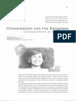 Iris Sanguesa