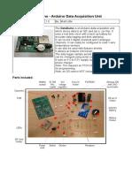 DAQunit Arduino DAQ Instructions v1