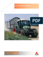 Fendt GFV09 Service Parts Guides