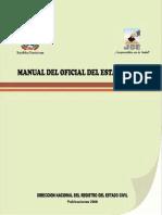 Manual del Oficial del Estado Civil
