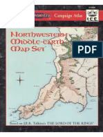 MERP North West Middle Earth Map Set