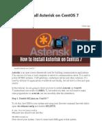Asterisk Server