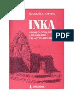 INKA Arqueologia Historia y Urbanismo De
