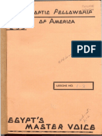 1937 Coptic Fellowship Lessons 1-18