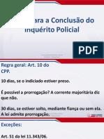 Direito Processual Penal - Aula 05 - Inquérito Policial (Parte v)