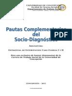 pautas complementarias del socio diagnostico