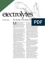 Medica Electrolytes FactSheet