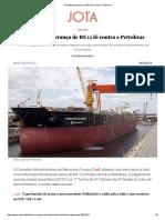 Carf afasta cobrança de R$ 12 bi contra a Petrobras