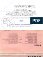 Canon AD35M Manual