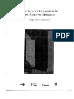 Avaliação e Classificação de Reservas Minerais- Yamamoto.pdf