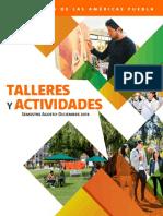 Catálogo de Talleres y Actividades UDLAP Semestre Agosto-Diciembre 2018