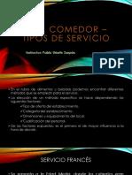 Comedor - Sesion 2