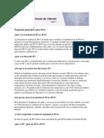 Preguntas Generales Sobre IPv6