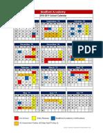 bradford 2018-2019 school calendar