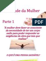 ANEXO 14 - Power Point a Saúde Da Mulher