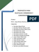 Avance Ordinario, congresos y convenciones.