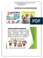 Dia Internacional de La Discapacidad