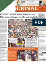 El Nacional, edición del 3 de febrero de 2019