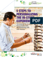 5 Steps to Personalizing the in Store Experience
