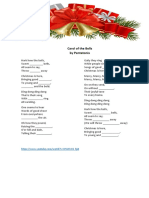 Christmas Songs Handout
