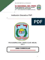 Programación Curricular Ept 2do Sec