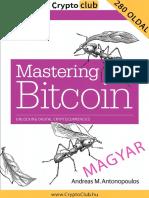 Mastering Bitcoin HU