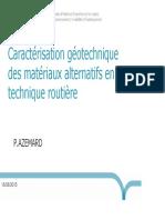 Caracterisation Geotech MA PAzemard 3