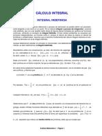 Calculo 1 Integrales