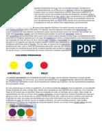 Los Colores Primarios No Son Una Propiedad Fundamental de La