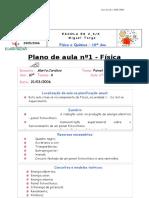 Plano de aula fisica
