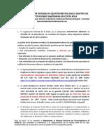 Importancia de Un Sistema de Gestión Metrológica Dentro de Las Instituciones Sanitarias en Costa Rica