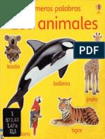 Primeras Palabras Los Animales