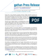 Press Release for the Conference in Brussels on 18 September 2008