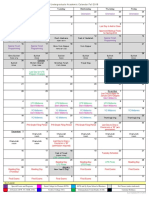 20180917 2018-2019 Undergrad Calendar