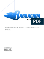 AG Barracuda Message Archiver US