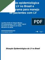 Fluxograma Para Manejo de Pacientes Com Lv