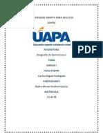 Unidad 1 Geografia Dominicana i