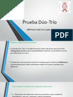 03 Prueba Duo Trio - Pareada