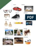 50 Vocabulario en Ingles Imagenes