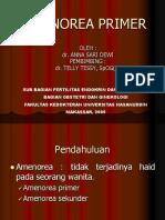 Amenorea Primer - Anna Sari Dewi, Telly Tessy