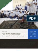 HRW report on Saudi Arabia --July2008