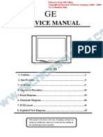 13329 General Electric GE-2110X Manual de Servicio