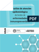 Brotes y Epidemias - Manuales y Guías de Decisión y Actuación - Lecturas 2018