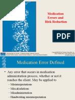 Avoiding Medication Errors