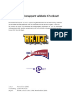Deen (2009) OnderzoeksRapport CheckOut