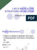 Matter as a Wave